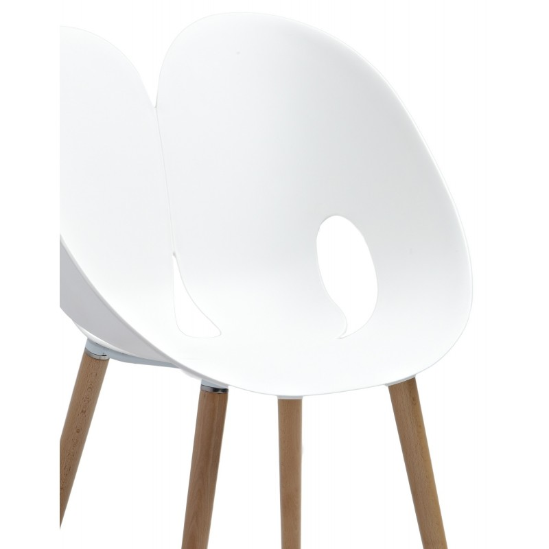 Chaise Design Blanche : Chaise design blanche nadege sarl carremeuble