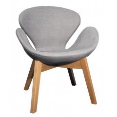 Chaise scandinave piétement bois - Elyt