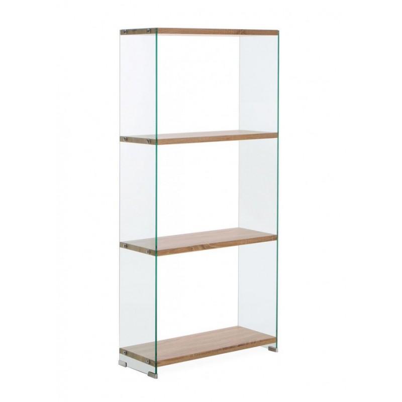 Bibliothèque en verre trempé grand modèle - GLASS