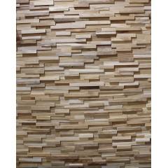 10 Plaquettes de parement mural en bois - PLACK01