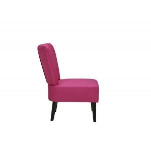 Fauteuil rose esprit boudoir - CELESTE