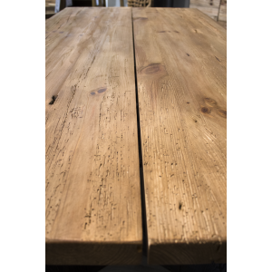 Table en bois de pin recyclé - ORIGIN 2
