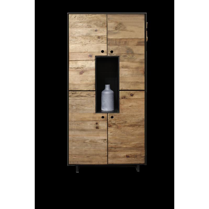 Armoire en bois de pin recyclé - ORIGIN 2