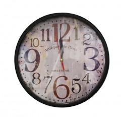 Horloge ronde rétro - TROQUET
