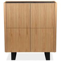 Armoirette 4 Portes en céramique, bois & métal - ODESSA