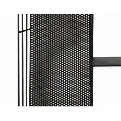 Étagère murale métal & noir - style industriel - INDY