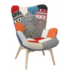 Fauteuil patchwork - DARLING