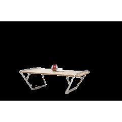 Table basse frêne/métal - MATY