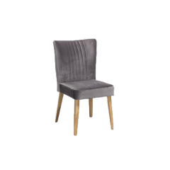 Chaise scandinave velours - JAN