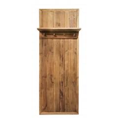 Vestiaire mural en bois - 4 accroches  - ORIGIN