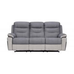 Canapé relax gris électrique 2 places - ALICE