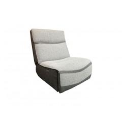 Canapé modulable - Chauffeuse électrique grise - ATLANTA