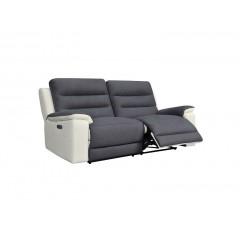 Canapé relax électrique 3 places - PESARO