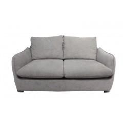 Canapé 2 places en tissu gris - ORION
