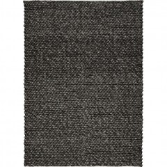 Tapis rectangulaire 160x230 cm gris foncé doux robuste  - MAUSSANE