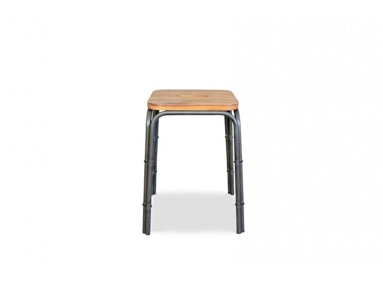 tabouret style industriel atelier belhome. Black Bedroom Furniture Sets. Home Design Ideas