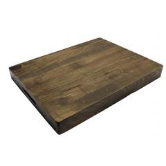 Planche à découper épaisse en bois de frêne 36 x 28 cm - PLATOU