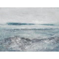 Peinture sur toile cadre décoratif vague abstrait - WAVY