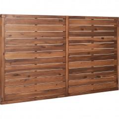 Tête de lit en bois d'acacia pour lit 160 cm - THAO
