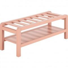 Bout de lit 1 personne longueur 96 cm rose rangement chambre enfant - LEGO 7369