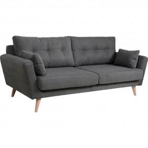 Canapé  3 places design scandinave en tissu confortable -  ICONE
