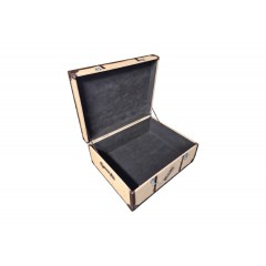 Table basse coffre de voyage - espace rangement - TRAVEL