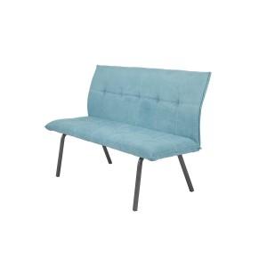 Banquette chaise en tissu rembourrée confortable 3 places - JADE
