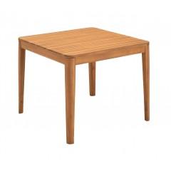 Table de jardin carrée en acacia - ESTILA 285