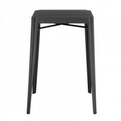 Table haute de bar industriel en métal - TRIVIA