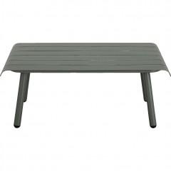 Belle table basse de jardin arrondie vert - PARADOU 405
