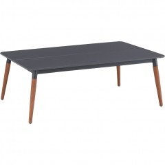 Table basse de jardin en duranite® & bois - ASTAKOS 444