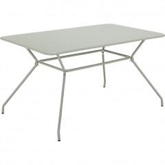 Table de jardin rectangulaire vert clair - INACIO 880