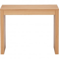 Table console extensible pour 2 à 8 convives - vue de face replié - FELICIA 681