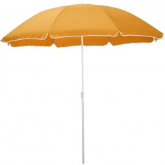 Parasol de plage jaune argan D180cm - GASSIN 309