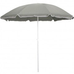 Parasol de plage vert olivier D180cm - GASSIN 323