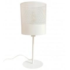 Lampe à poser en métal blanc - CLOTILDE 161