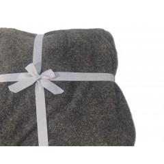 Plaid doux gris foncé - SIBERIE