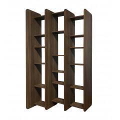 Bibliothèque en bois de noyer - PESCA 884