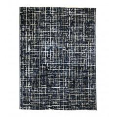 Tapis bleu et blanc 160x230 - BAPTISTE 728