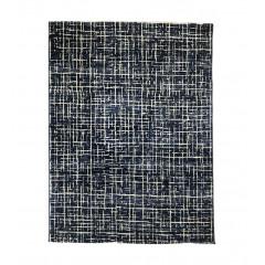 Tapis bleu et blanc 120x170 - ATLANTIQUE 827