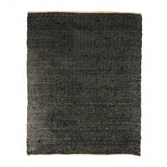 Tapis en jute noir - BERNARD 5531