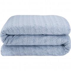 Housse de couette en coton - bleu figuerolles 240x220cm - CANIS
