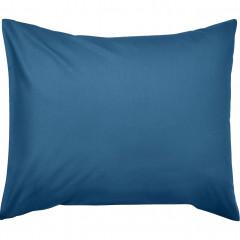 Taie oreiller en coton 35x45cm - coloris bleu - CALANQUES