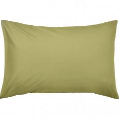 Lot de 2 taies oreiller en coton 50x70cm - coloris vert - CALANQUES