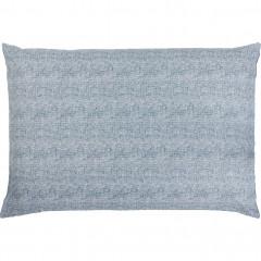 Lot de 2 taies oreiller en coton 50x70cm - petit modèle - CANIS