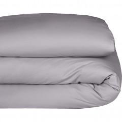 Vue de face - Housse de couette en percale de coton 240x220cm - FLORE