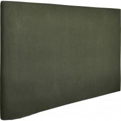 Housse en polyester pour tête de lit  90cm vrt - vue d'angle -  TOPAZE