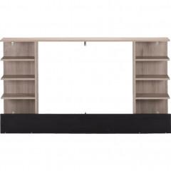 Tête de lit avec rangement L160 cm - vue de face -  CASTEL 685