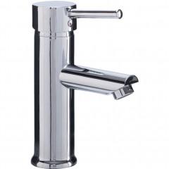 Mitigeur bas de lavabo chrome - vue d'angle - PEGASE 071