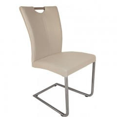 Sophie - Chaise Beige PU luge